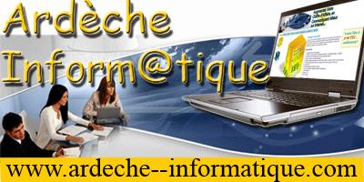 Ardèche Inform@tique : Créateur de sites internet